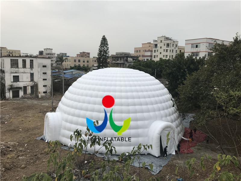 2018 Cheap Pvc Tarpaulin Large Inflatable Waterproof Dome Tent Cabin