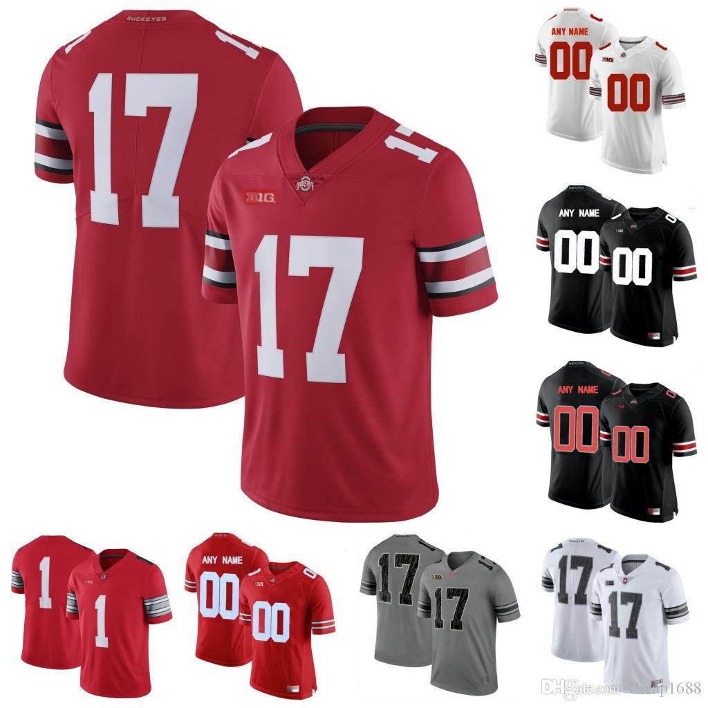 online retailer 6ff31 1c284 NCAA Ohio State Buckeyes #11 Vonn Bell 32 Jack Tatum 33 James Laurinaitis  47 AJ Hawk 85 Mike Nugent Stitched College Football Jersey