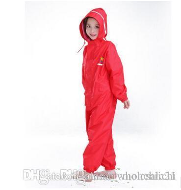 d244c3bdb327 2019 Waterproof Raincoat For Children Pants Baby Rain Coat Pnocho Kids  Rainsuit Outdoor Boys Girl Raincoats For Children From China wholesale21