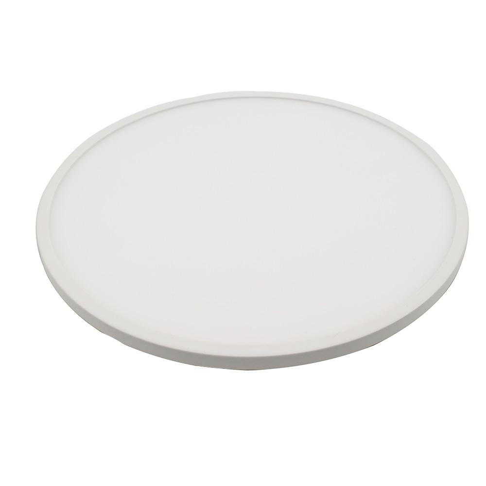 8dd6a12227 2019 Ultra Slim Embeded 12W Round LED Panel Light SMD3014 AC85 265V Led  Indoor Ceiling Lamp White  Warm White With Driver From Happylights