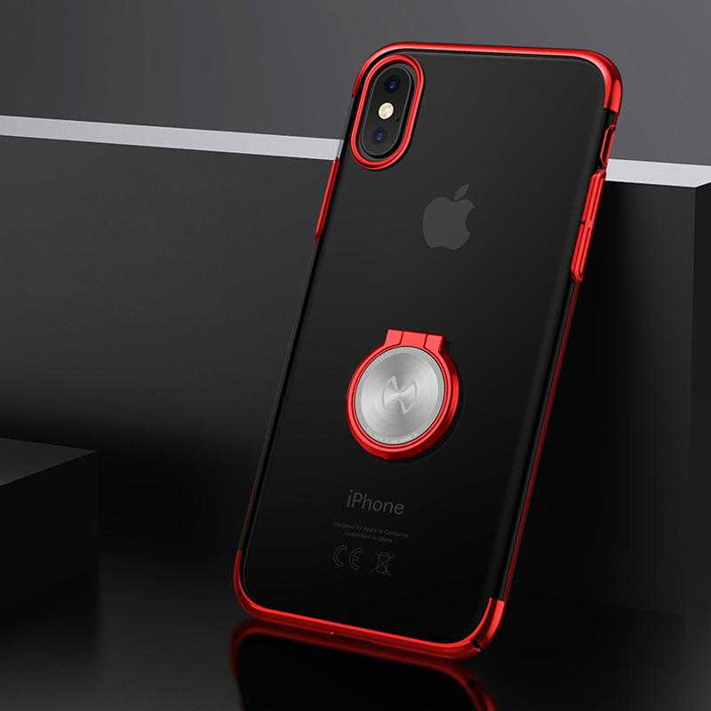 pretty nice 72dd6 64594 For Apple Iphone X Phone Case Xundd Luxury Transparent Hard Pc Back Cover  For Iphone X Case Shell Fit With Magnetic Car Holder
