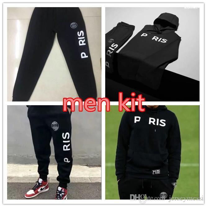38791980612 Psg Adult Football Hoodie 2018 2019 Paris Casual Sportswear 18 19 ...
