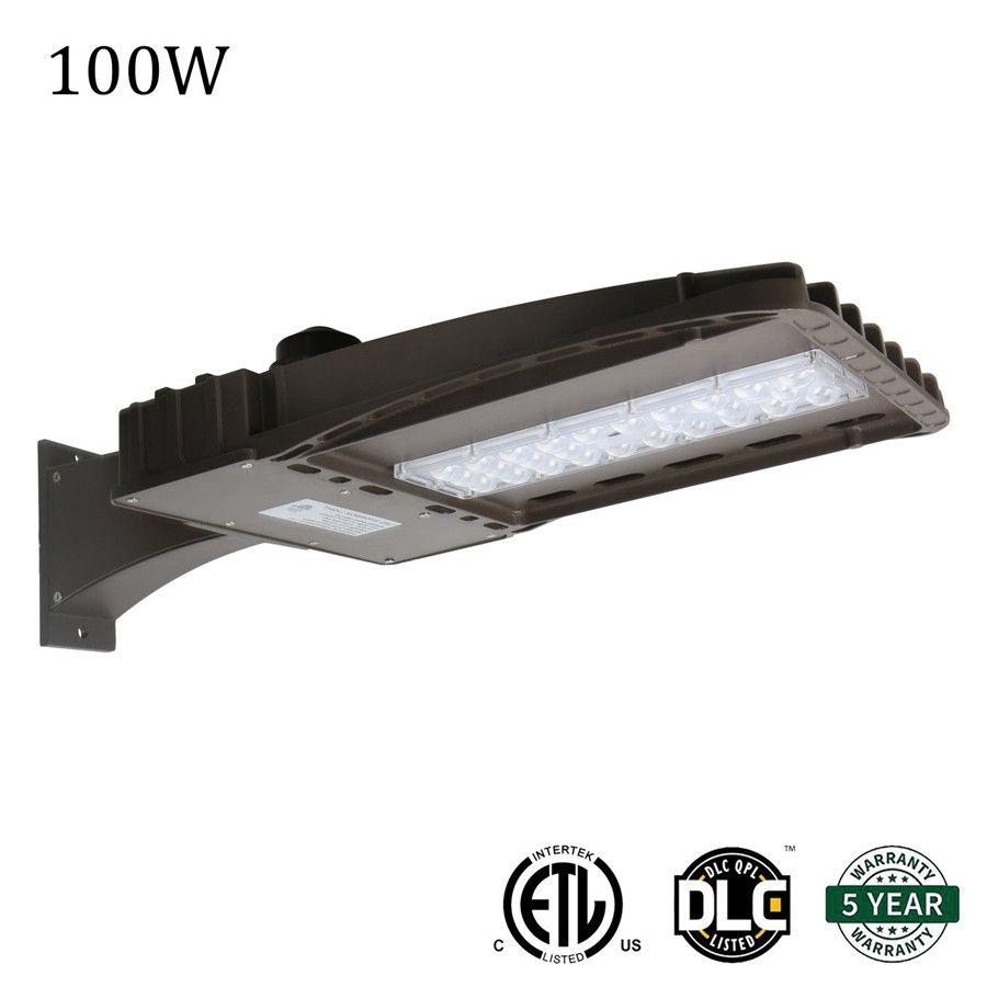 أضواء LED لوقوف السيارات Shoebox 100W 150W 200W IP66 للماء في الهواء الطلق شارع القطب الخفيفة مع UL DLC المدرجة