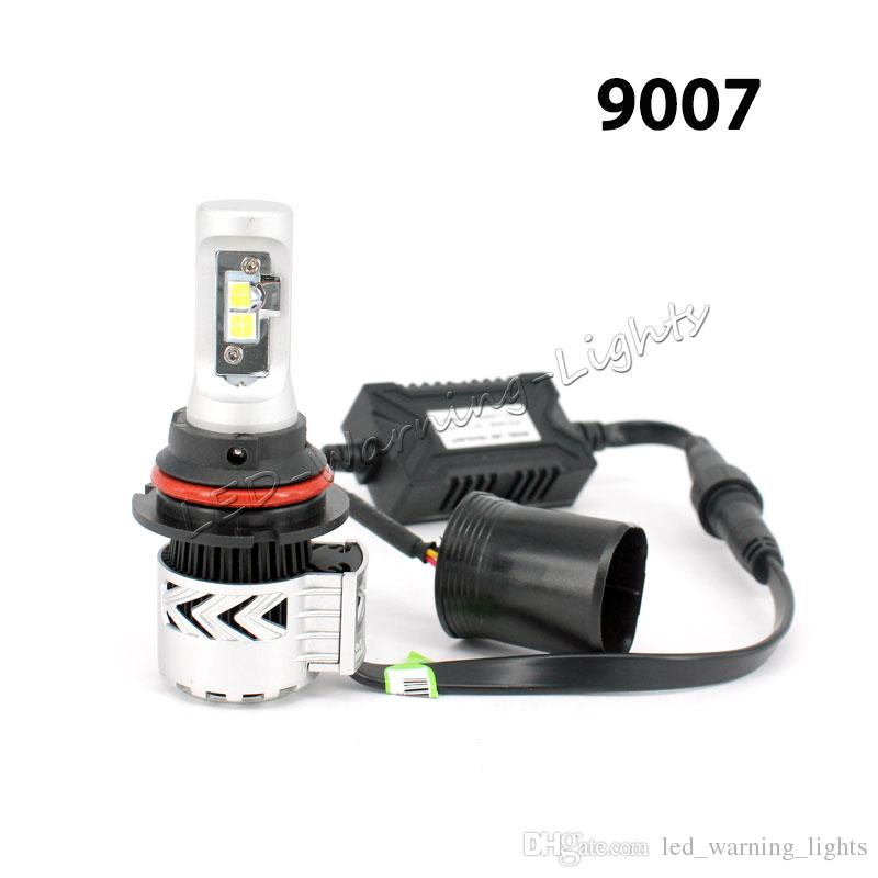 H4 H13 9004 9007 XHP50 Chips LED Headlight Bulb Kits Hi Low Beam In One 6500k Automobile Fog Light Bulbs Cars With Led Lights Cheap Auto From