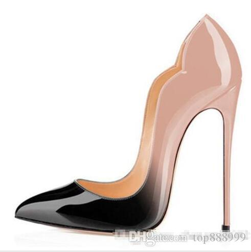 02aca2ace0e4 Women Shoes Red Bottom High Heels Sexy Pumps Shoes For Women Patent ...
