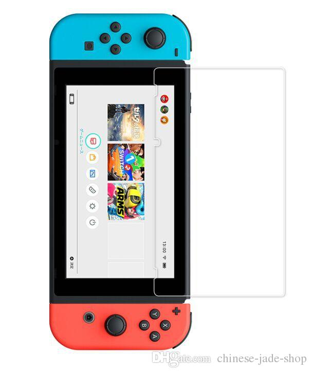 Para Nintendo Switch Vidrio templado HD Anti-Scratch Glass Screen Protector /