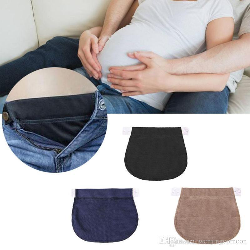 1465dd425 Compre 2018 Embarazo Cinturón Embarazo Apoyo Maternidad Embarazo Cinturón  Cinturón Elásticos Cintura Extender Pantalones Extender Cinturón es   A   2.27 Del ...