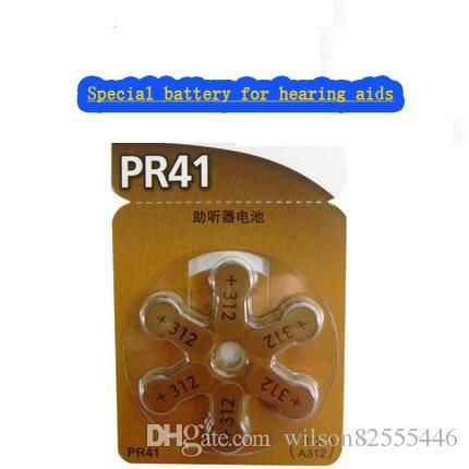Hearing Aids Battery A312 Zinc Air Pr41 P312 Is Suitable For Elderly ...
