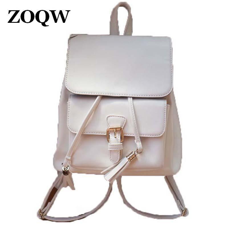 9ab1478ce5 Wholesale 2016 Hot Sale PU Leather Backpack Women Fashion European Style  Teenage Girls School Bag Casual Travel Shopping Backpacks WUJ0392 Hunting  Backpacks ...