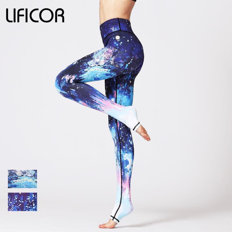 Acheter 2018 Pantalons De Yoga Femmes Leggings Sport Fitness Mince