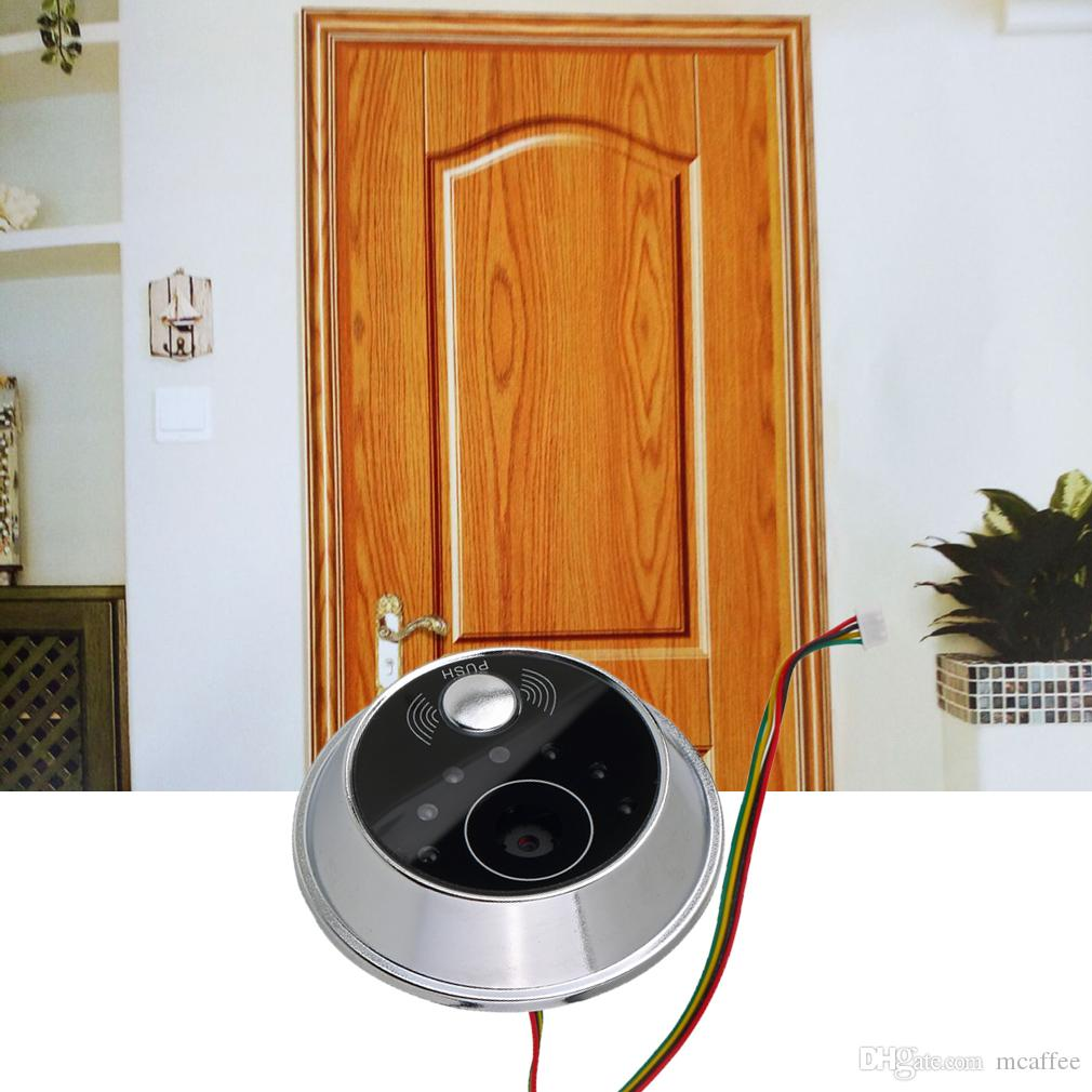 Worldwide 2.8 Digital Door Peephole Viewer Security Lcd Peephole Door  Viewer Sensor Monitor Peep Hole Viewer Camera Video DIY Door Viewer DIY Door  Viewer ...