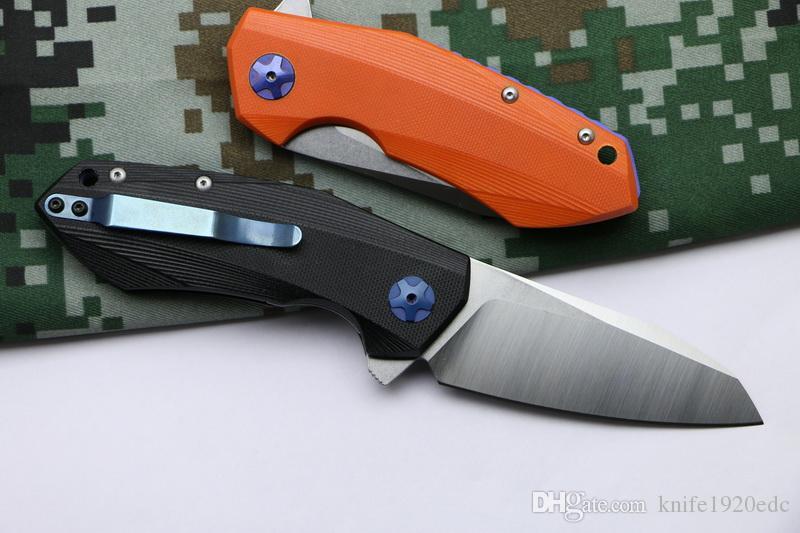 LOVOCOO 0456 Flipper katlama bıçak rulman D2 blade G10 kolu açık Survival kamp avcılık cep EDC aracı Mutfak bıçağı