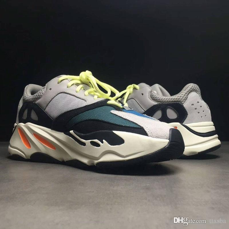 cheap cost 2018 Newest Kanye West Wave Runner 700 Running Shoes cheap White Black Authentic 700 Casual Sneakers With Box size uer 36-45 sale ebay buy cheap fast delivery good selling cheap price outlet order online JP7f5rE
