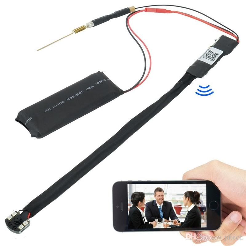 WI-FI 1080 P HD DIY Módulo Câmera Sem Bateria Monitoramento Remoto P2P Câmera Super Grande Angular de Visão Noturna para APP Monitoramento em tempo real