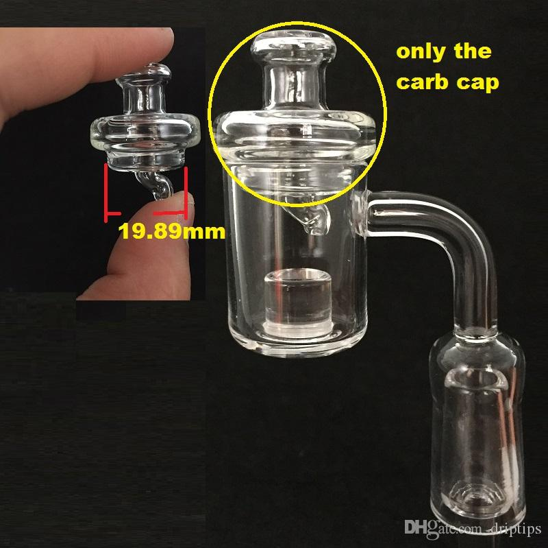 UFO Bubble Carb Cap round ball dome for OD 25mm XL Flat Top Quartz thermal banger Nails Opaque Bottom Gavel Nail Bongs Oil Rigs