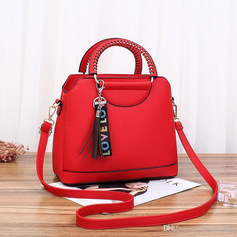 Designer Purses And Handbags For Women Shoulder Bag For School Girls Single  Strap Leather Shoulder Bag Cheap Handbags Cheap Purses From Xiaokoubag 688aff0da6b62