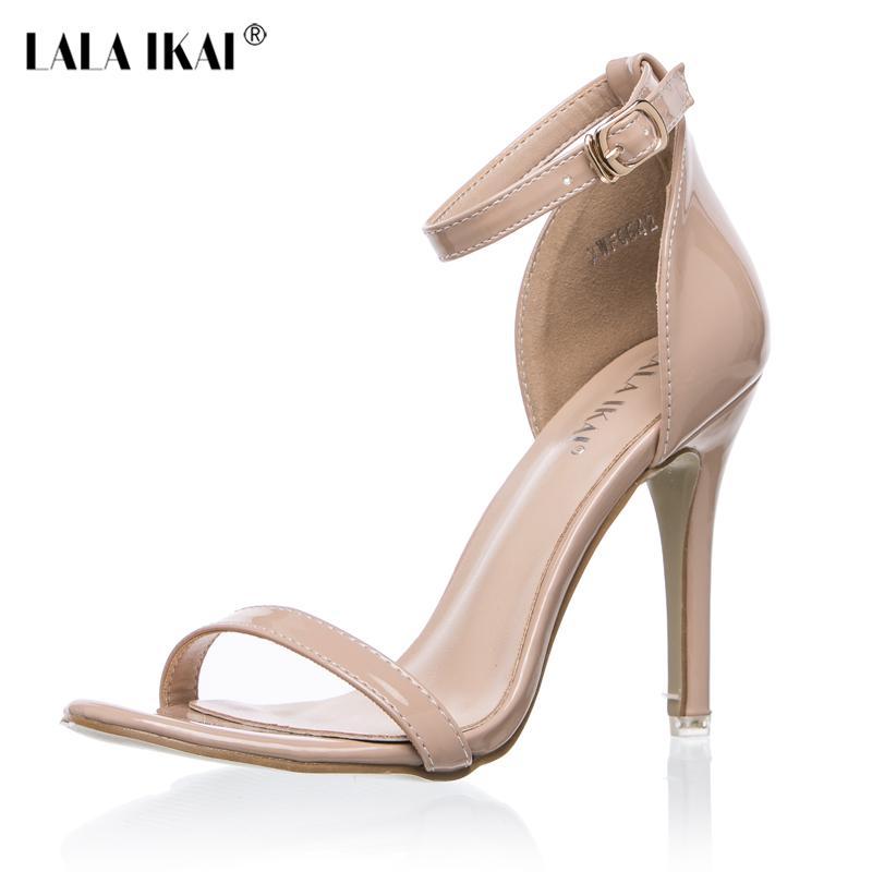 Ikai Été Concise Open Toe Sangle Femme Lala T Nu Cheville Chaussures Suede Talons Sandales D Femmes Robe 2017 Hauts OPkXn80w