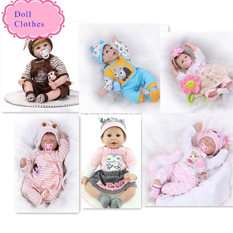 Großhandel High End Design 55 Cm Reborn Baby Puppe Kleidung Heißer ...