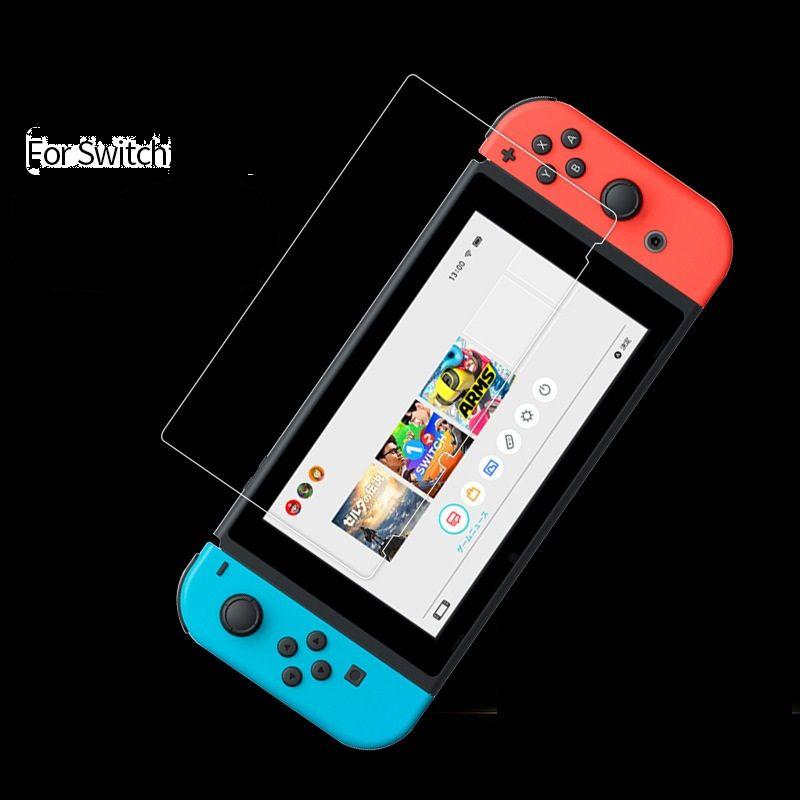 Para o protetor de tela anti-arranhão de vidro anti-arranhão de vidro moderado da Nintendo / lote
