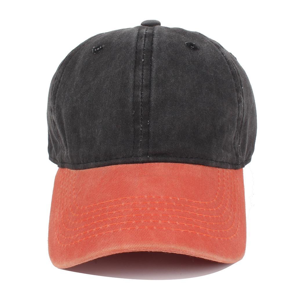 e438a19ad25 Hot Mixed Colors Washed Denim Snapback Hats Autumn Summer Men Women ...