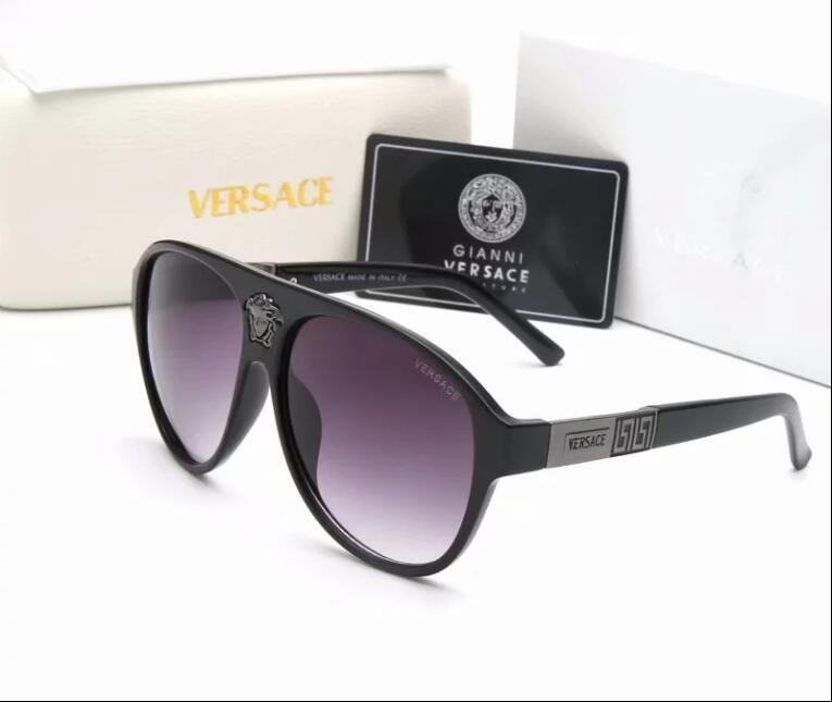 9efb8ec8b747b Compre 2018 De Alta Qualidade Lente Polarizada Piloto Moda Caixa De Óculos  De Sol Para Homens E Mulheres Marca Designer De Óculos De Sol Do Esporte Do  ...