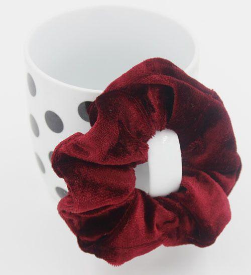 Capelli Elastico Velvet Scrunchie Scrunchy Hairbands fascia capa Coda di cavallo porta accessori della principessa delle ragazze dei capelli del bambino accessori A00159