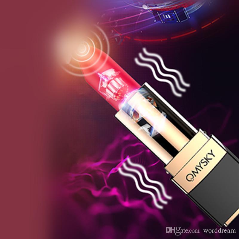 10 Speed G spot Lipstick Vibrator Vibrating Bullet Egg Anal Plug Clitoris Stimulator Female Masturbation Sex Toys For Women