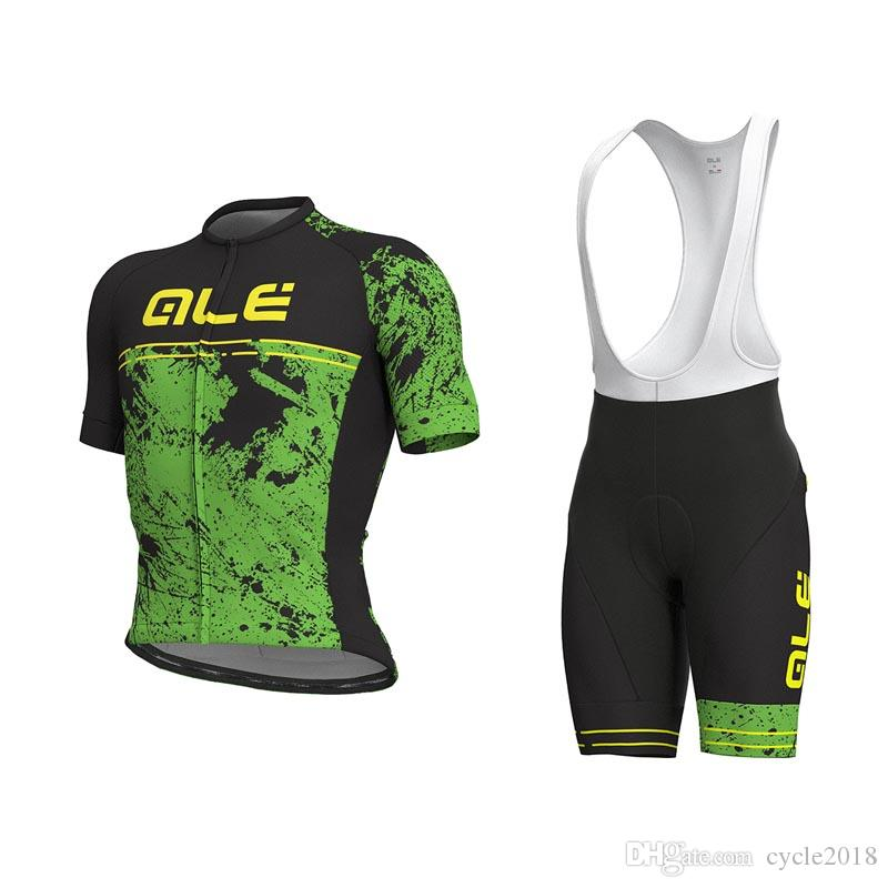 2018 New ALE Cycling Jerseys Set Summer Style Men MTB Bike Ropa ... ac4ecfe3d