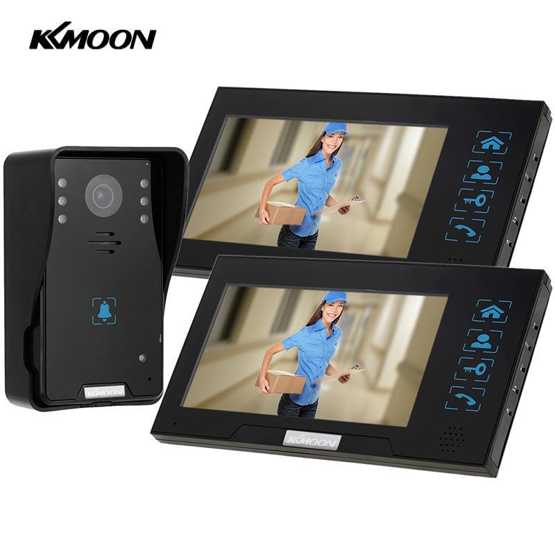 Kkmoon 7 Video Door Phone Recording Hd 1000tvl 1 Ir Night Doorbell