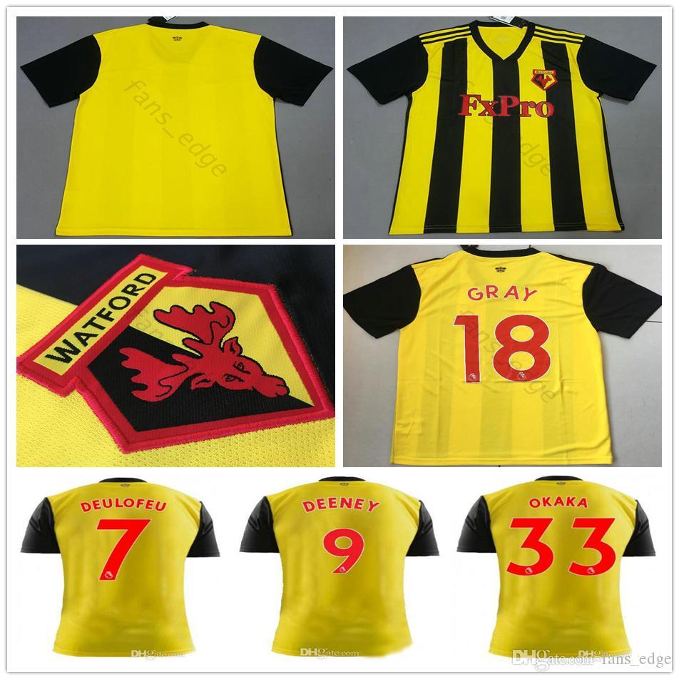 19 Okaka Camisetas 18 Deeney Watford Deulofeu Pereyra De Fútbol gbYyf76