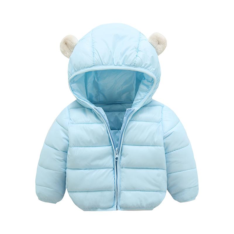ff6af1288688 Children Jacket Outerwear Boy And Girl Autumn Warm Down Hooded Coat ...