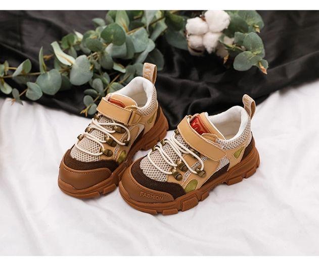 Marrone Da Basket Alta Qualità Ragazza Scarpe Sneaker Di Marca Ragazzo Bambini In Famosi Pelle Colore Ginnastica EHIY29WD
