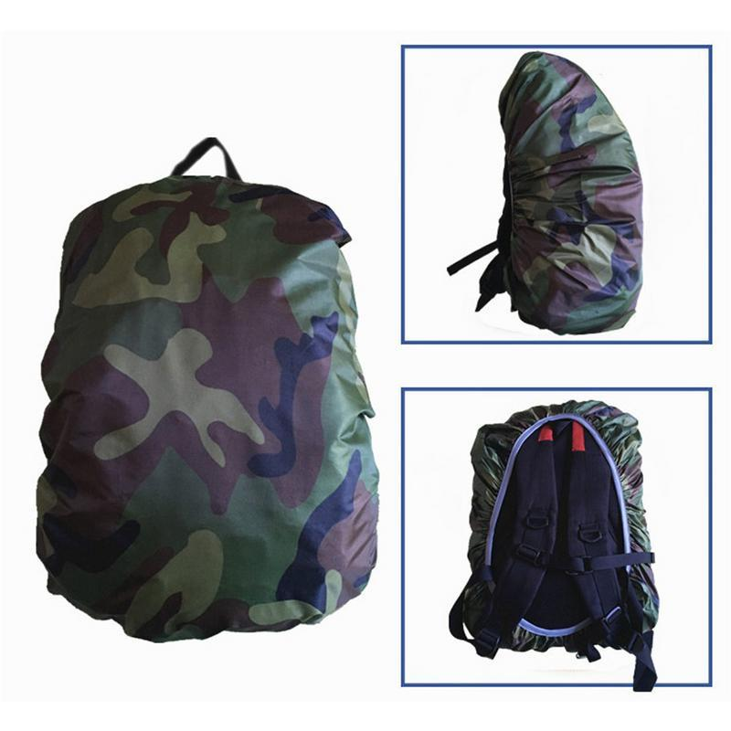 waterproof camo rain cover dustproof camo travel hiking backpack