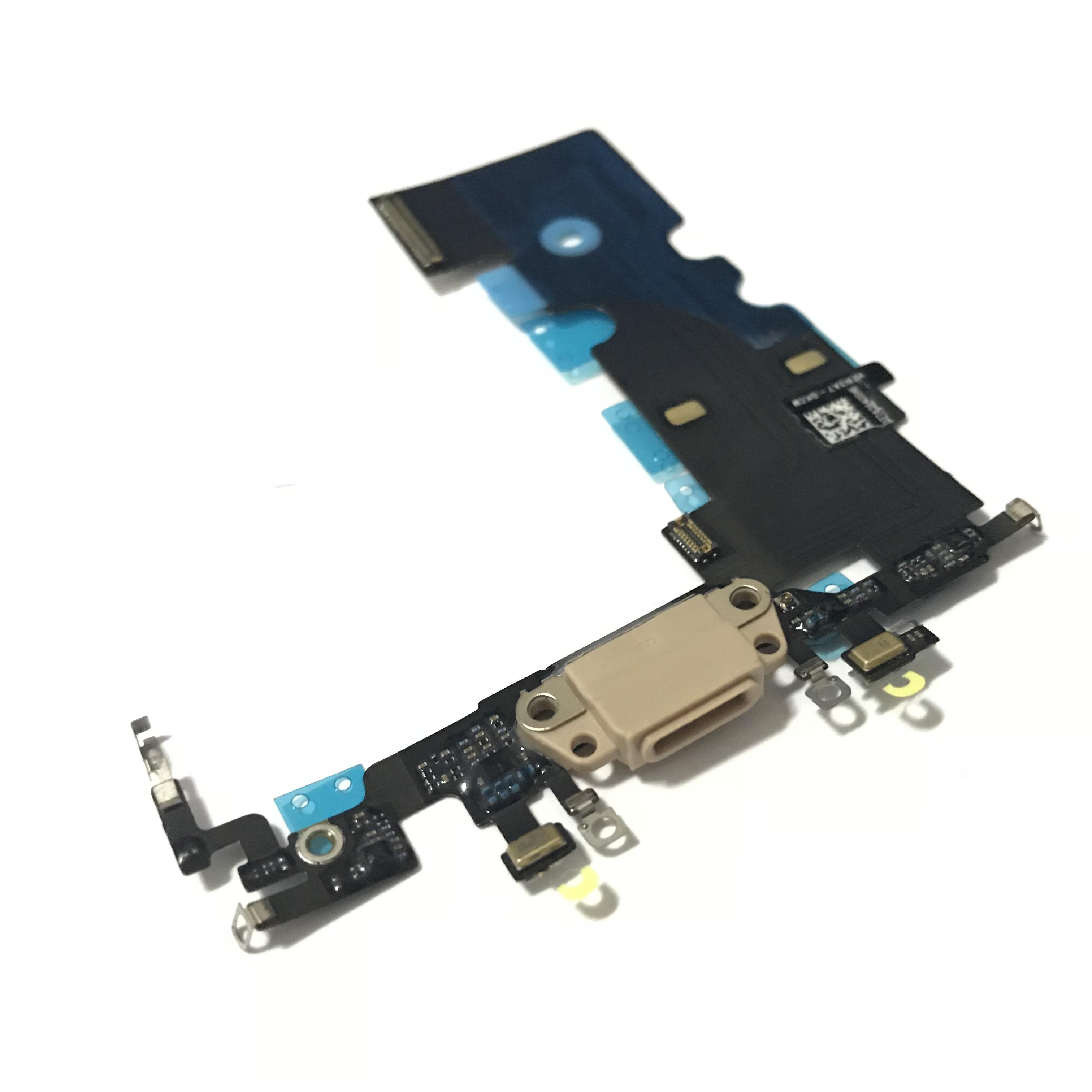 pretty nice 08b6f 78cec High Quality New USB Charger Port Charging Dock Connector Flex Cable  Replacement For iPhone 8 8G 8P 8 Plus