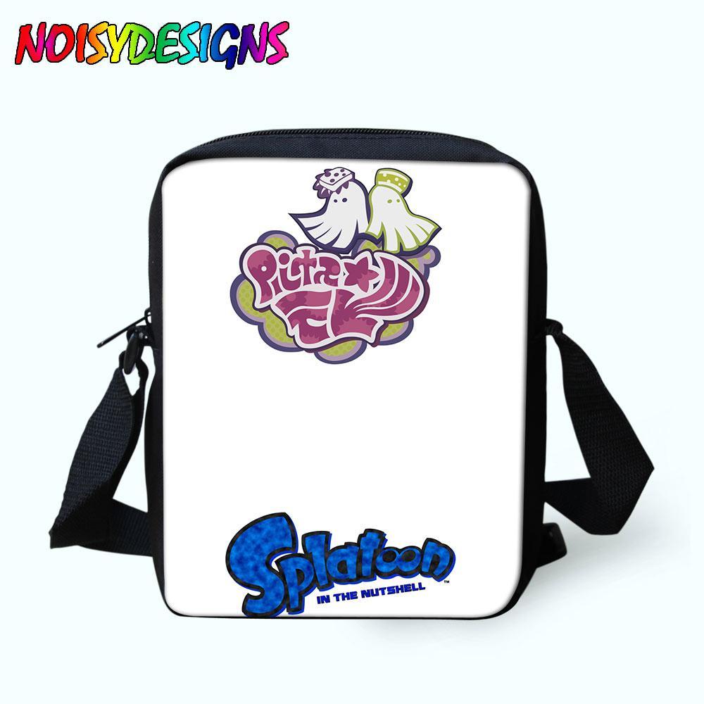 6a3146ecc7 Splatoon Poster Messenger Bags School Bag Porte Bag Kids Boys Girls  Crossbody Letter Print Shoulder Drop Shipping Evening Bags Stone Mountain  Handbags From ...
