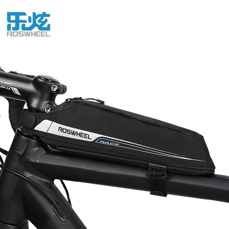 WILD MAN Mountain Bike Bag Waterproof MTB Mobile Phone Case Front Tube Bags