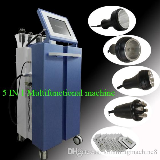 High Quality New Model 40k Ultrasonic liposuction Cavitation 8 Pads LLLT lipo Laser Slimming cavitation machine for salon