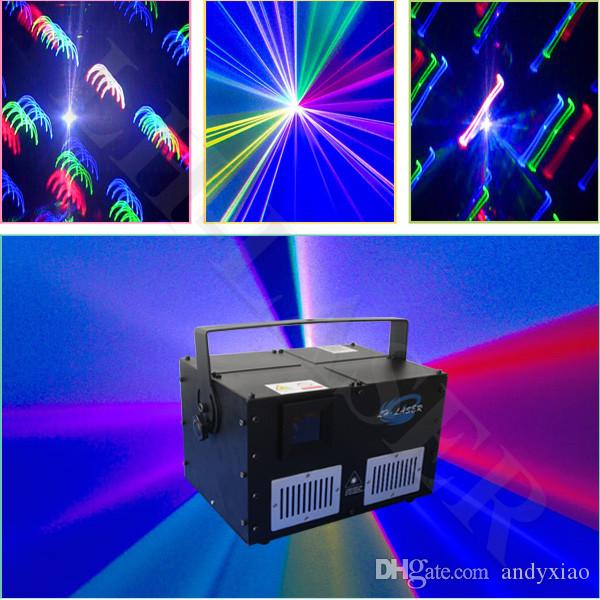 4500mw rgb stage disco laser light show system animation effect light for outdoor and christmas laser fog light disco laser light 12 volt led laser light