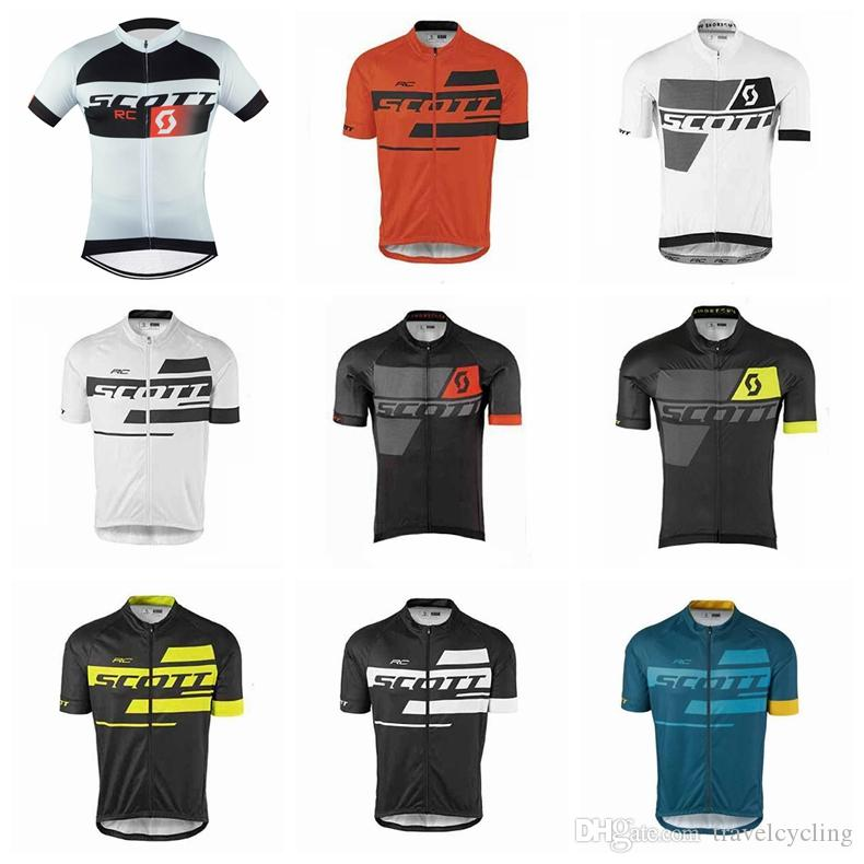 Maillot Ciclismo New Team SCOTT Men Cycling Jersey Cycling Wear Road Bike  Clothing Short Sleeves Bicycle Shirt Mtb Sportswear 92120Y Mountain Bike  Jerseys ... a2d904056