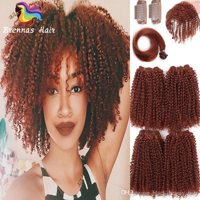 2018 New Pack Human Hair Feeling Synthetic Fiber Afro Kinky Curly