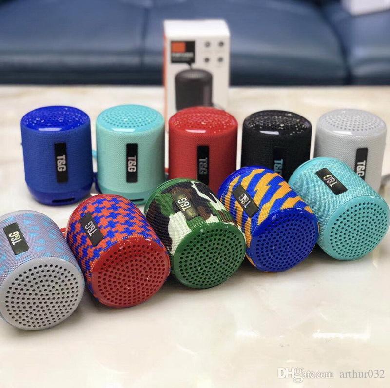 Handy-zubehör Verantwortlich Bluetooth Lautsprecher Led Wireless Speaker Sound Box Radio Aux Sd Usb Blau Neu