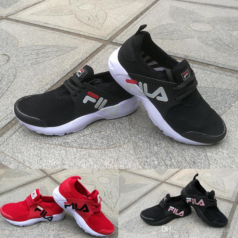 Acheter 2018 Marque FILA Hommes Chaussures Casual Pour Hommes Sneakers  Femmes Mode Athlétique Chaussures De Sport Corss Randonnée Jogging  Chaussures