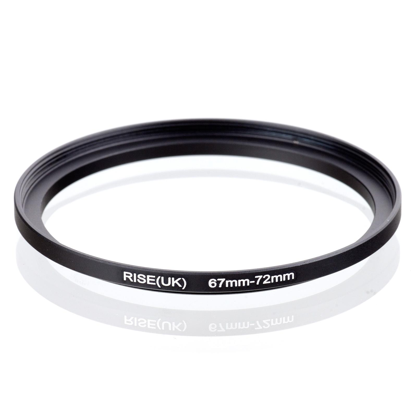 stock RISE(UK) 67-72mm 67-72 mm 67 to 72 Step up Filter Adapter Blackfreeshipping ring compass