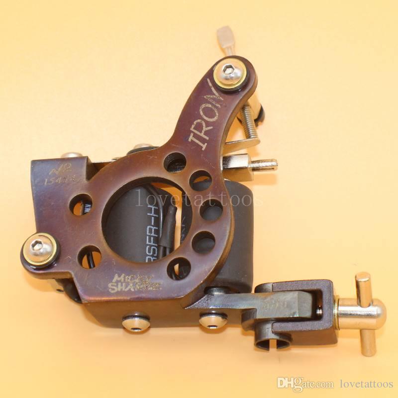 New Chrome Steel Rotary Tattoo Machine Gun Aluminum Motor Shader ...