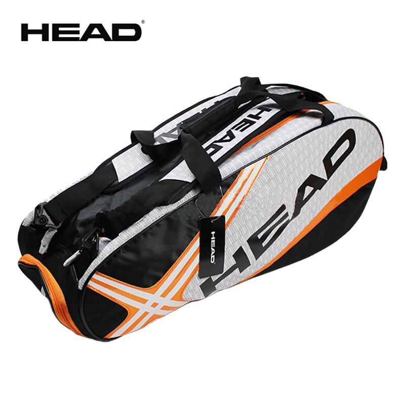 Head Tennis Bag >> Professional Head Tennis Bag Large Capacity Max For 6 Tennis Rackets Male Sports Backpack Or Single Shoulder Djokovic Same Type