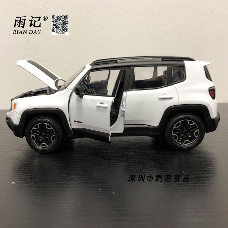 2019 Rian Day 1 24 Scale Suv Car Model Toys Jeep Renegade Trailhawk