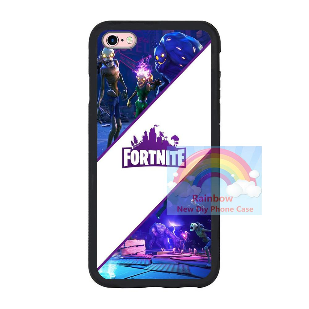 online retailer 5d858 0409b Fortnite Battle Royale For iPhone 7 7plus 8 8 plus Samsung Galaxy S8 TPU  Case ,Fortnite Battle Royale Soft TPU Protective Phone Case Cover