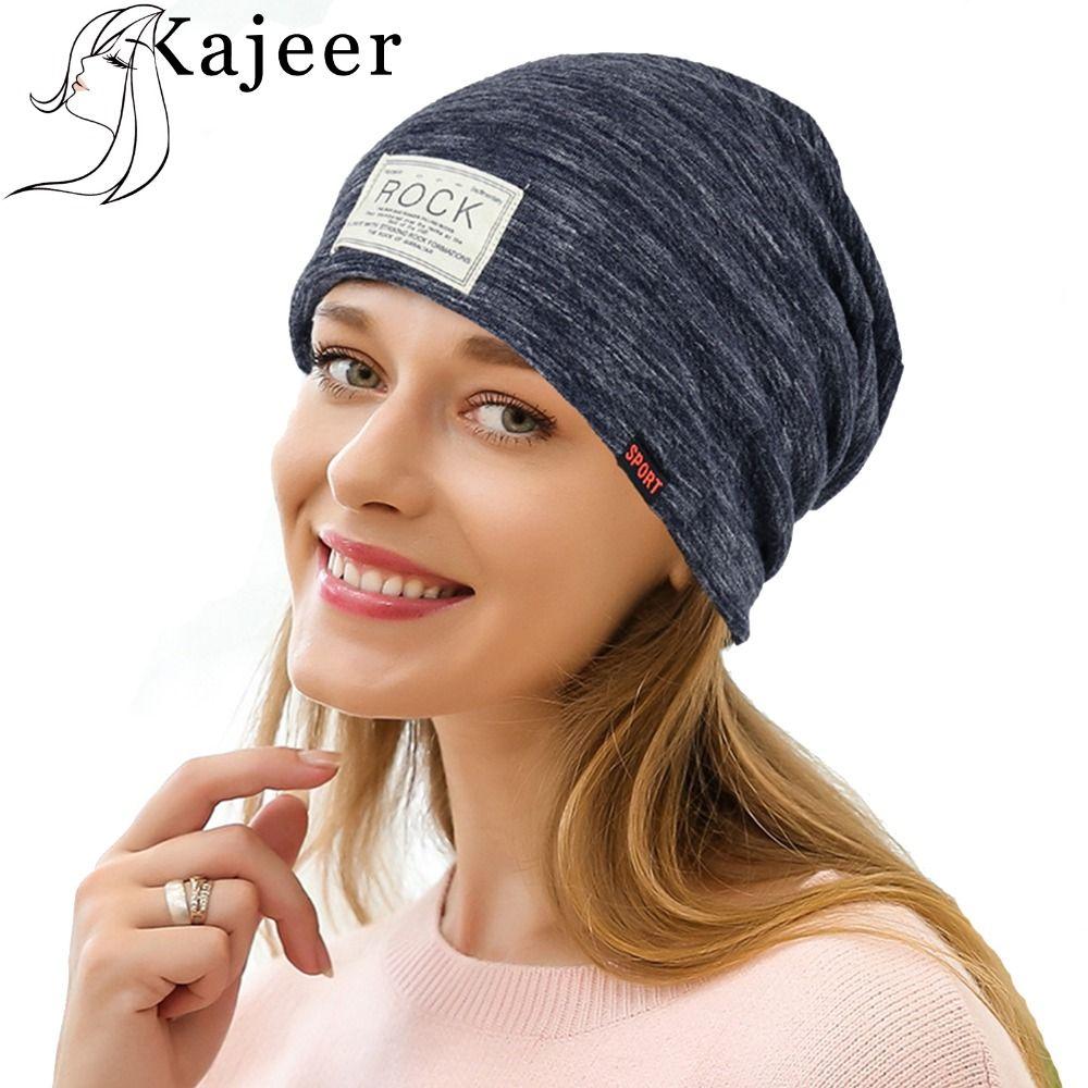 Compre Kajeer Nuevas Mujeres Y Hombres ROCK Cloth Hat Plus Cachemira  Invierno Sombrero Para Mujeres Moda Warm Beanie es Deportes Casquillos De  Invierno A ... 1e22ccbd661