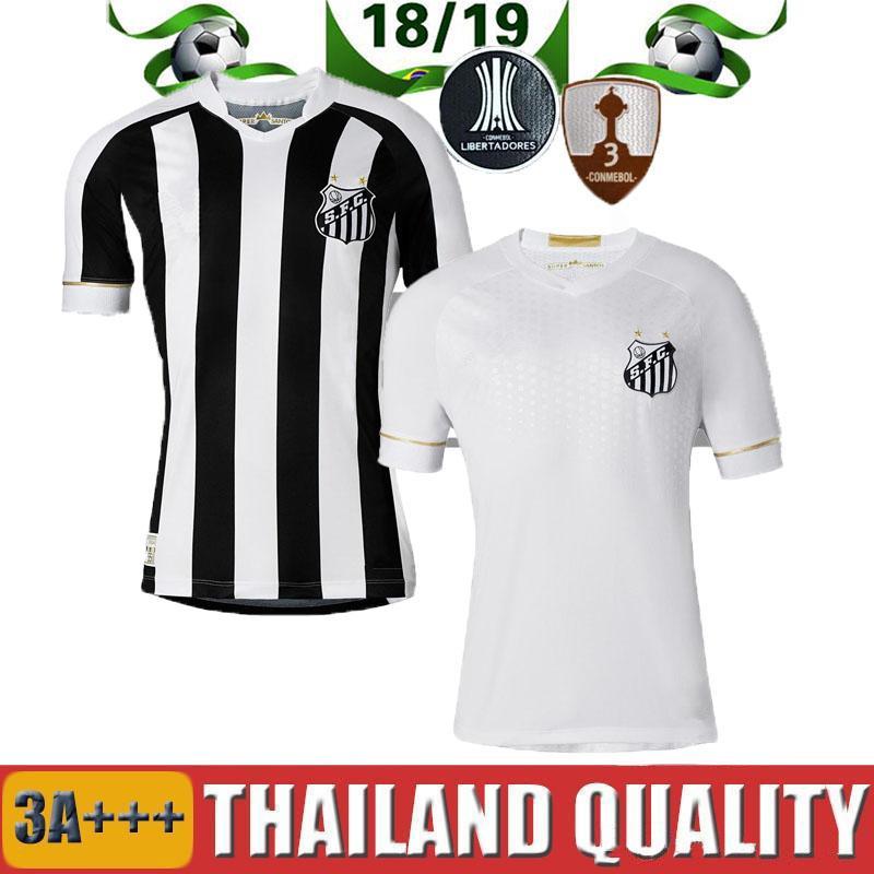 d18e46e84 2019 2018 2019 Santos FC Soccer Jersey 18 19 Santos Home Away Gabriel  RODRYGO DODO RENATO SASHA Football Shirts From Thai jerseys