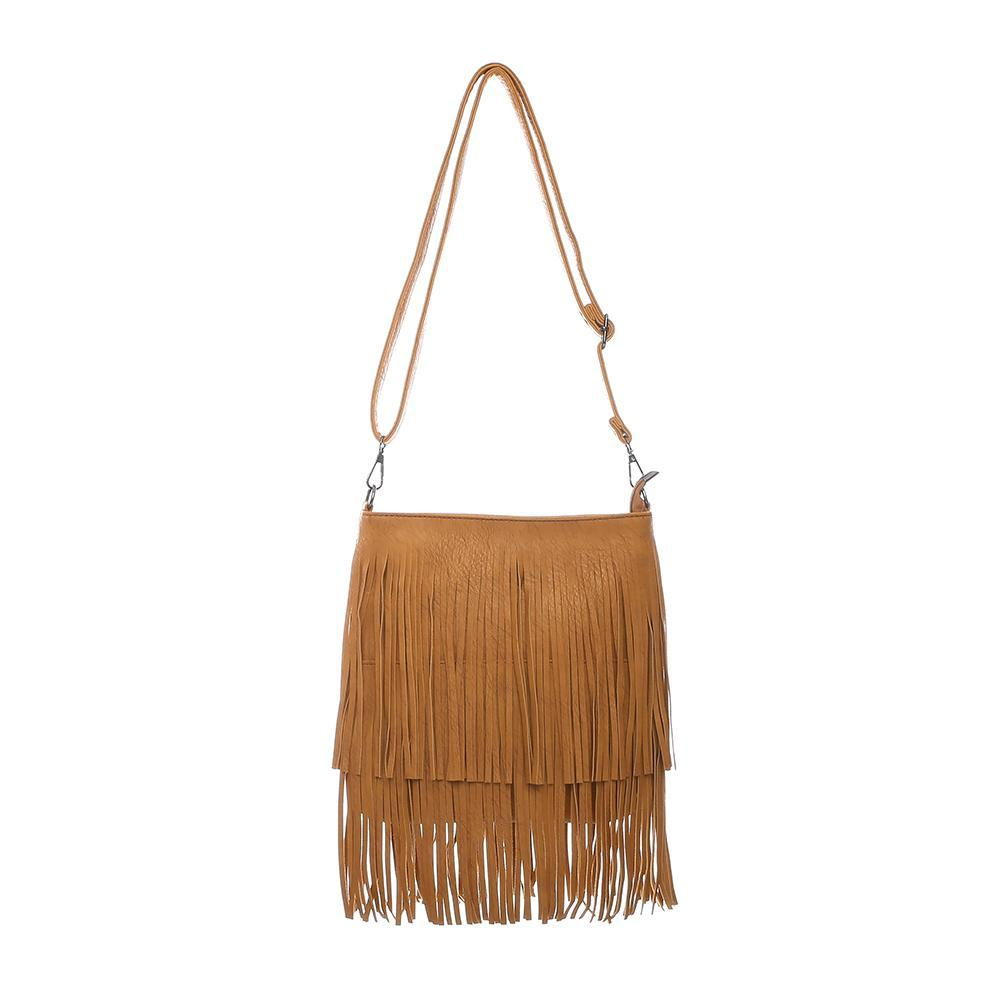 42a958d70b Small Women Messenger Bag Nubuck Tassel Shoulder Bag Female 2018 ...